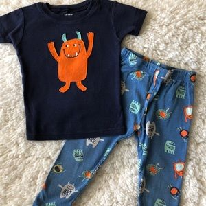 Carter's boys pajamas